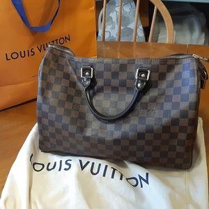 Louis Vuitton Damier Ebene speedy 30 bag